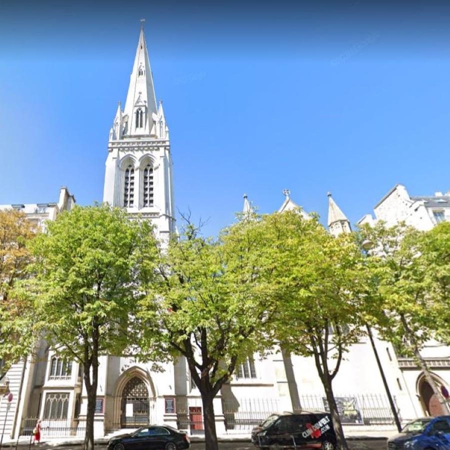 Cathédrale américaine de la Sainte-Trinité