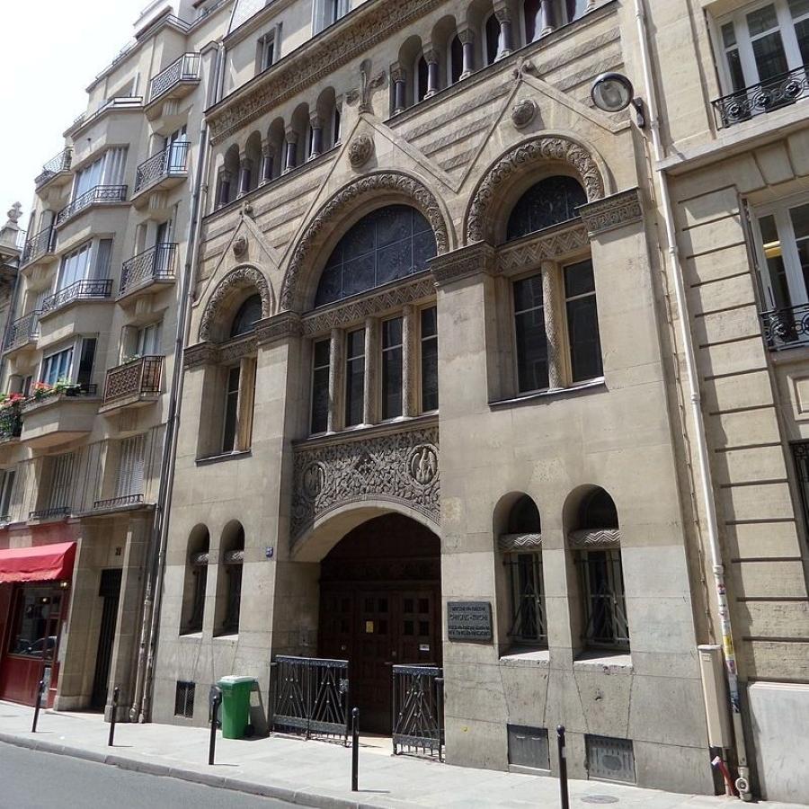 Christuskirche - Eglise protestante allemande à Paris
