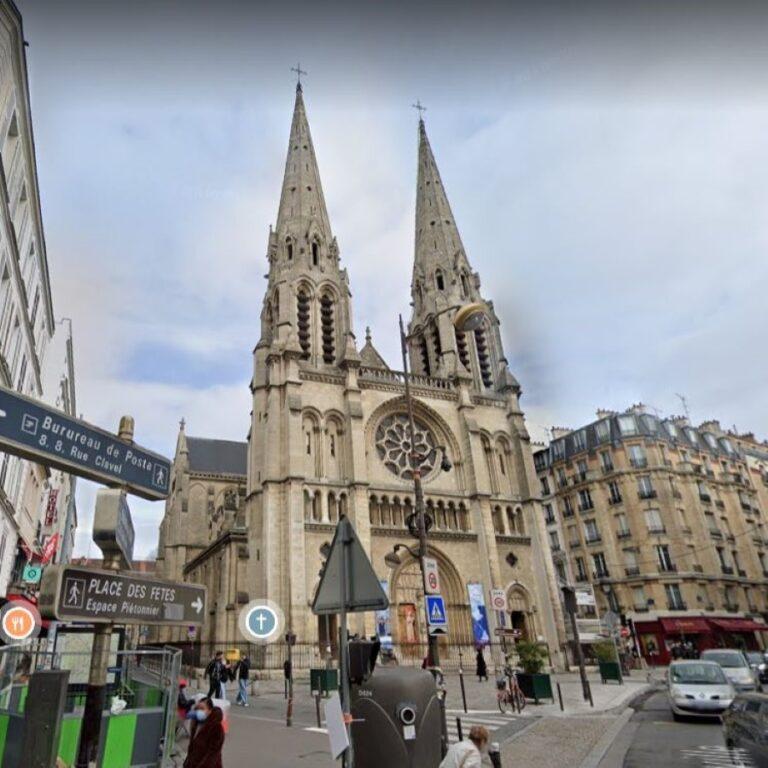 Eglise Saint-Jean-Baptiste-de-Belleville