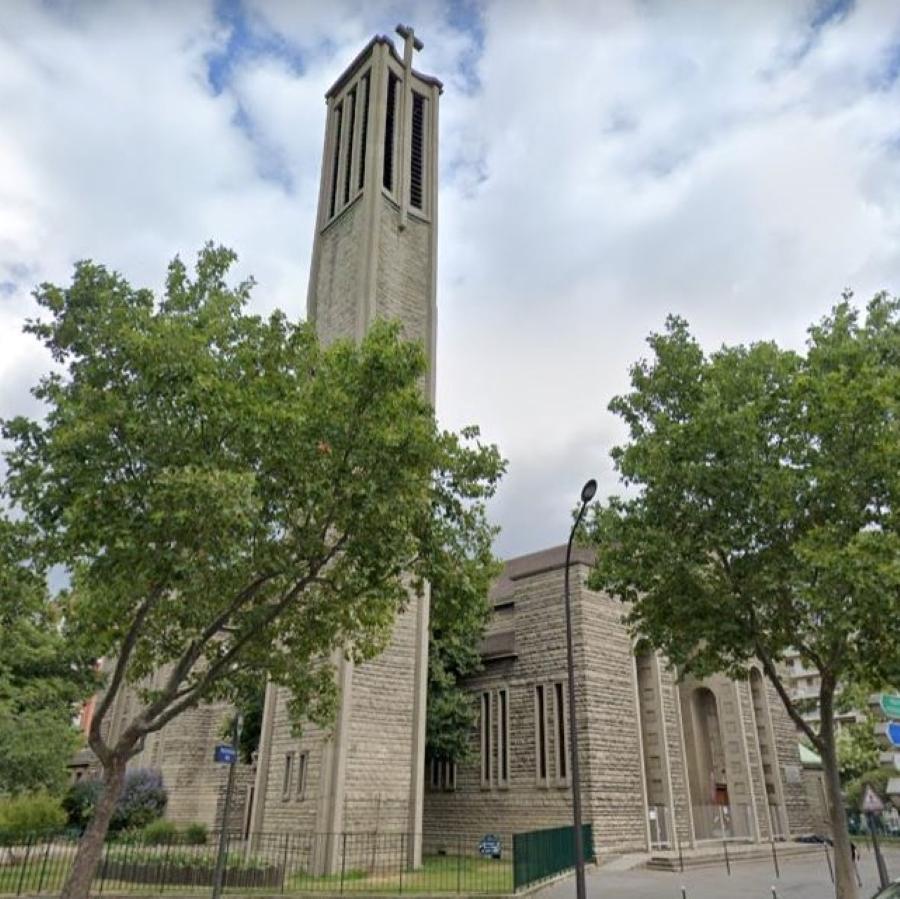 Eglise Sainte-Jeanne-de-Chantal